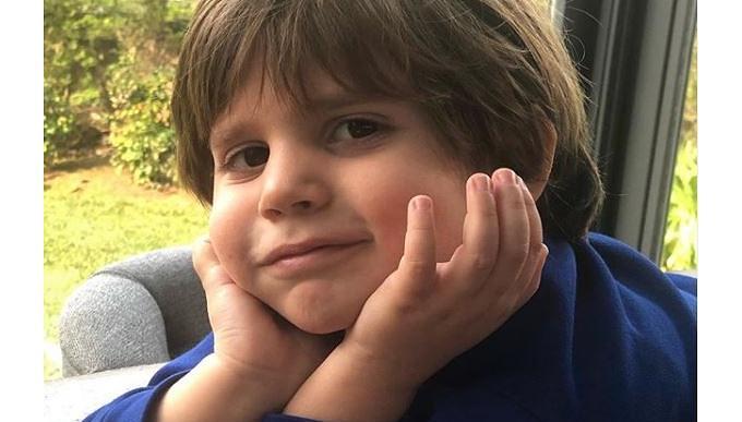 Esra Erol'un oğlu Ömer'in fotoğraf krizi