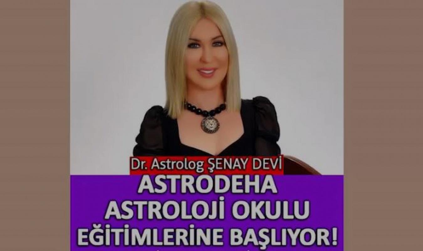 AstrodehA Astroloji Okulu başlıyor!