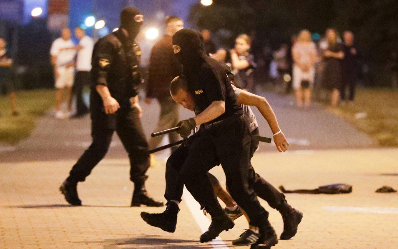 Belarus'ta olaylar durulmak bilmiyor!