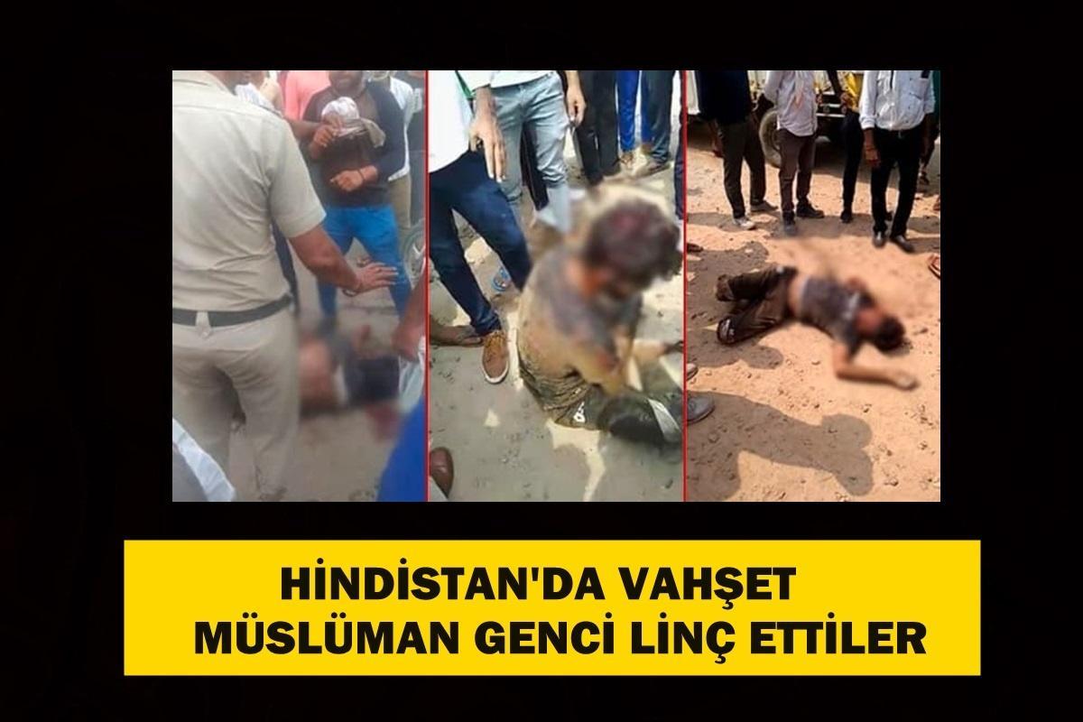 Hindistan'da inek eti taşıyor diye müslüman genci linç ettiler