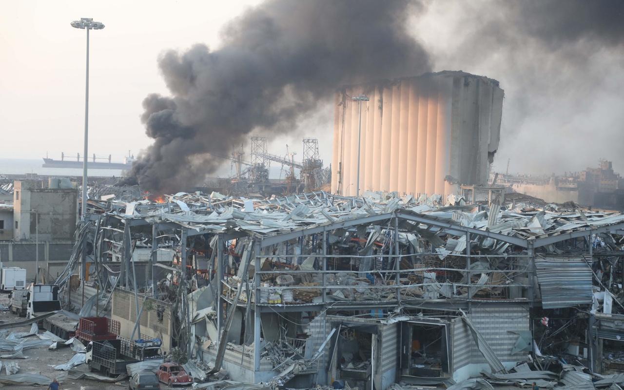 İşte Beyrut'ta meydana gelen korkunç patlamanın detayları!