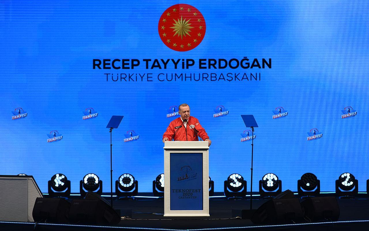 Cumhurbaşkanı Erdoğan TEKNOFEST'te