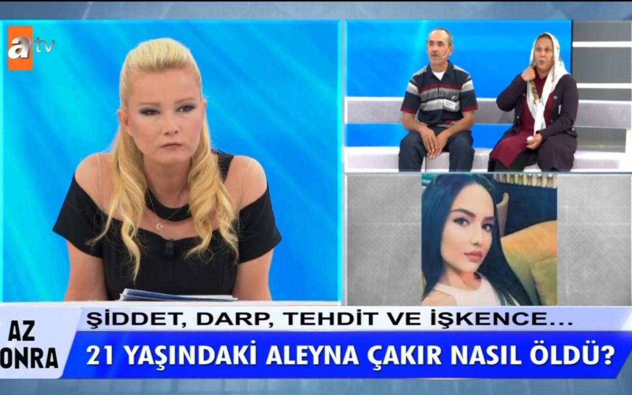 Müge Anlı'da Aleyna Çakır'ın ölümünde kan donduran cinayet itirafı!