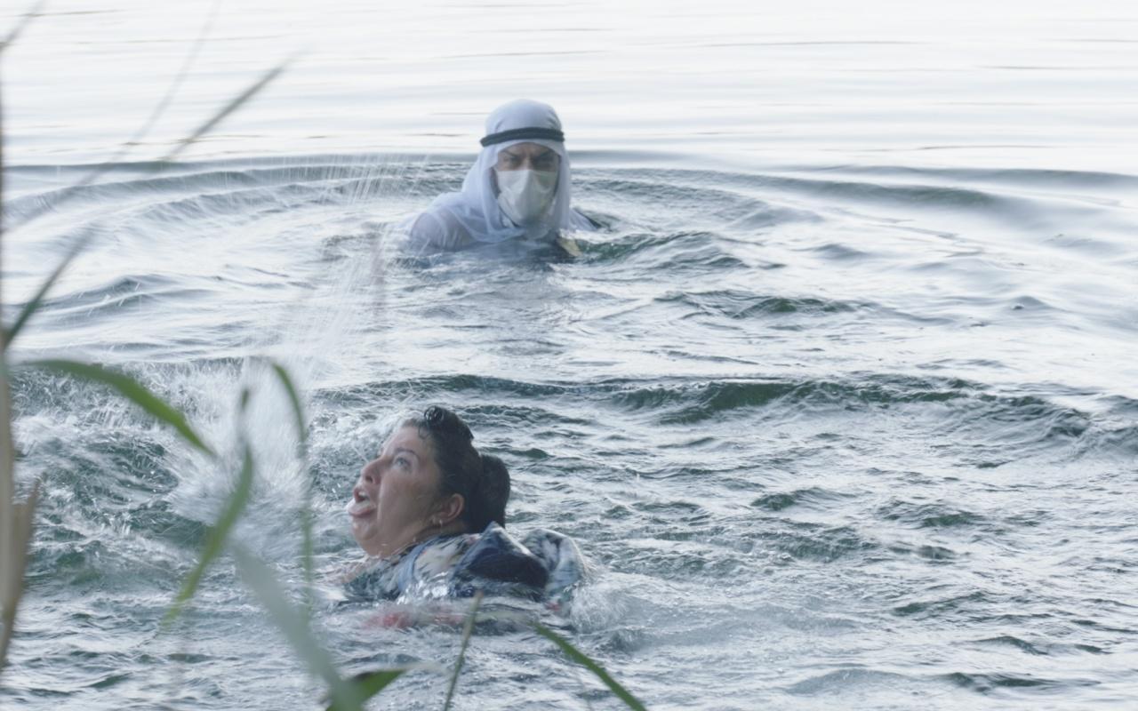 Oyuncu Aslı Omağ boğulurken şok bir olay yaşandı