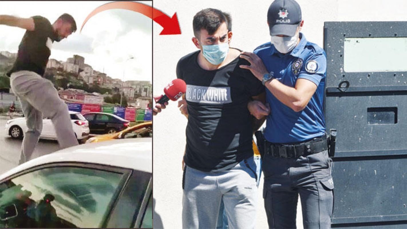 Trafikte kadın sürücüye saldıran kişiye bakın ne kadar ceza istendi!