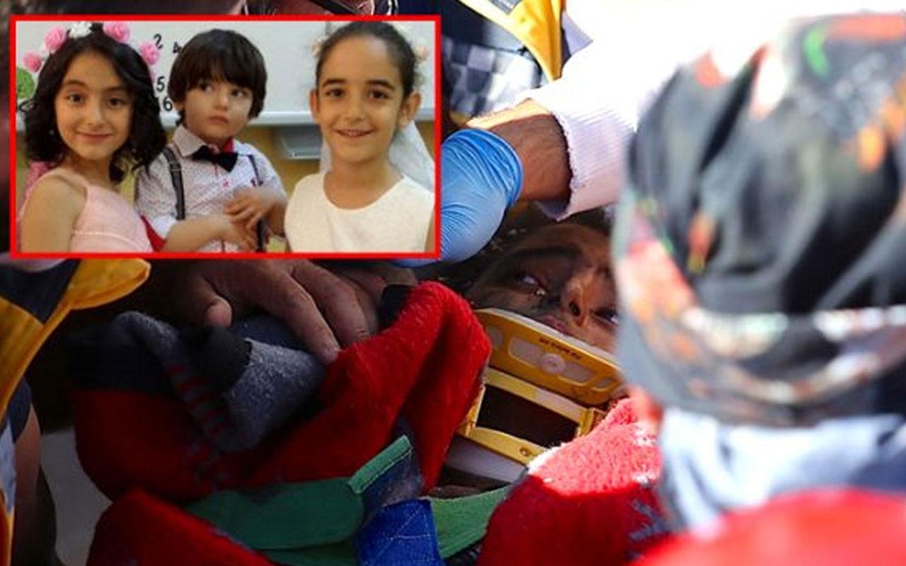 Bir çocuğun cansız bedeni enkazdan çıkarıldı!