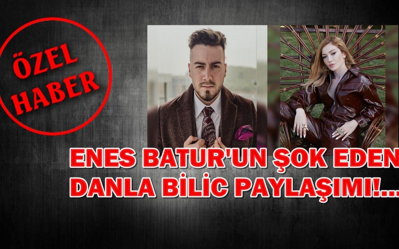 Enes Batur Danla'dan Hoşlanmıyorum dedi sosyal medya yıkıldı