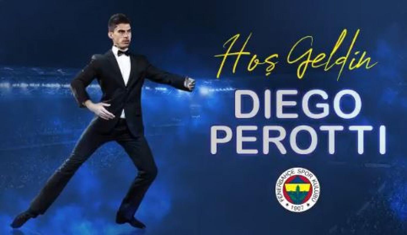 Fenerbahçe çıldırdı üçüncü transferde açıklandı... Hoş geldin Diego Perotti!