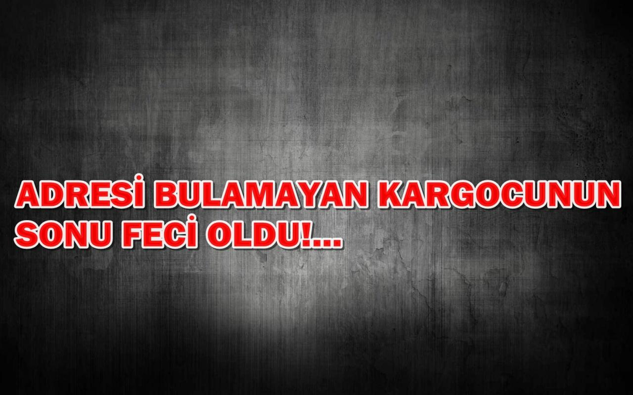 İstanbul'da adresi bulamayan kargocuyu döverek öldürdü