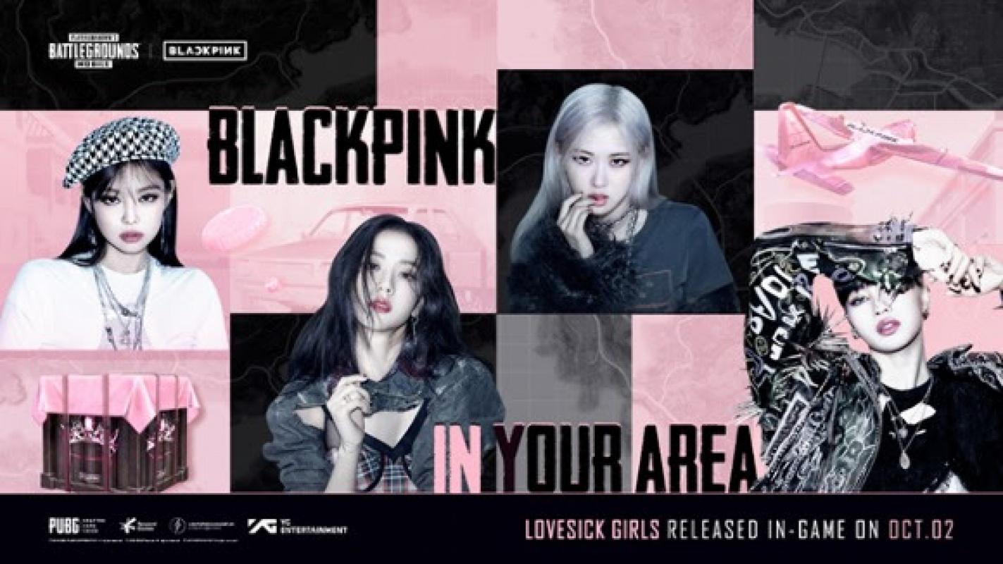 K-Pop gruplarından BLACKPINK şarkıcı PUBG MOBİLE'de