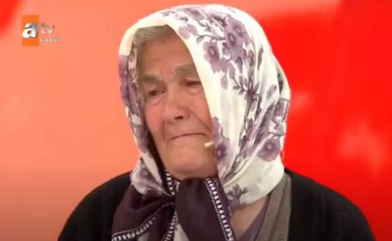 Niğdeli Zeynep teyze Müge Anlı'da izleyenleri ağlattı