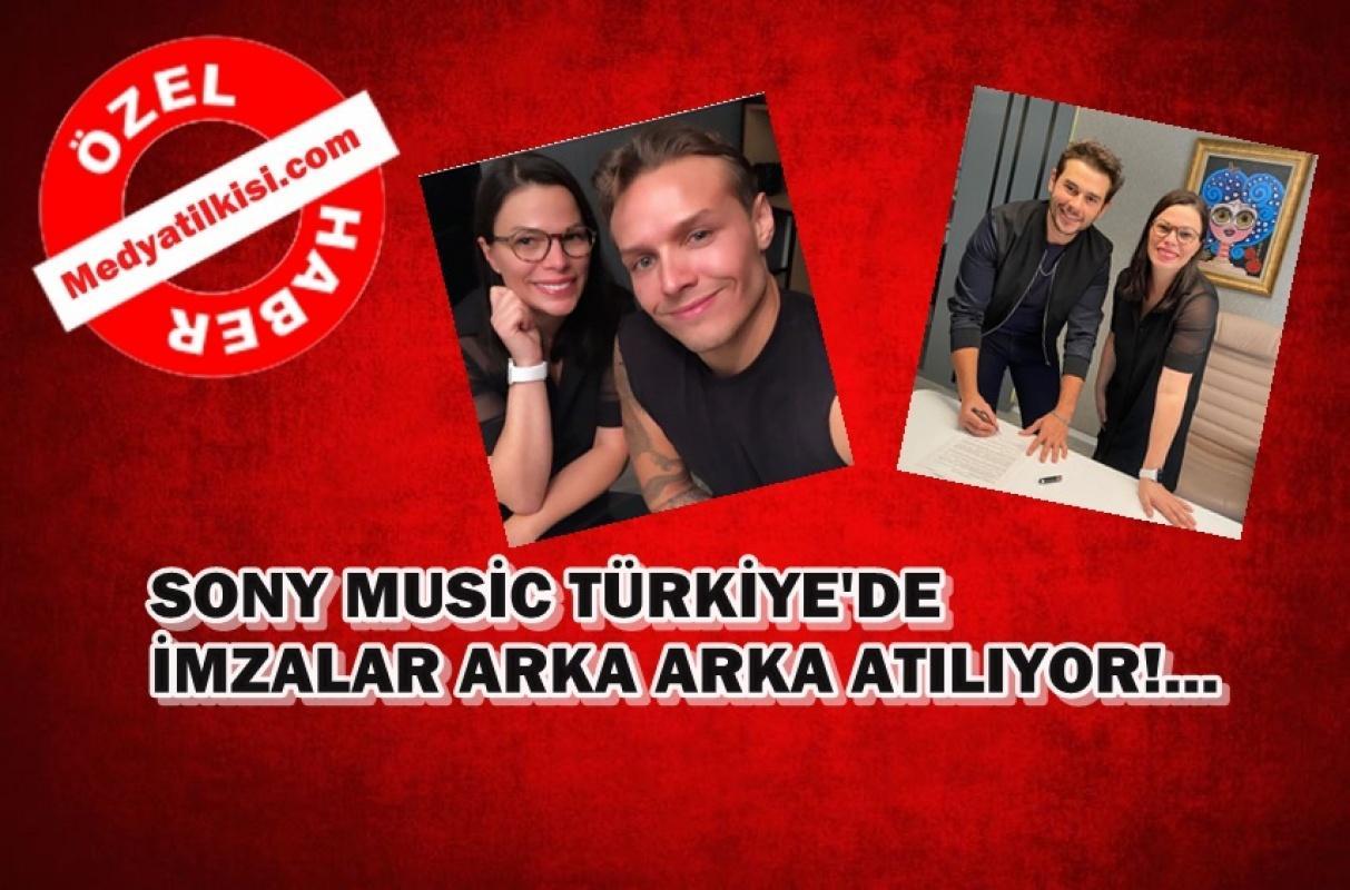 Sony Music Türkiye'de transferler bitmiyor!