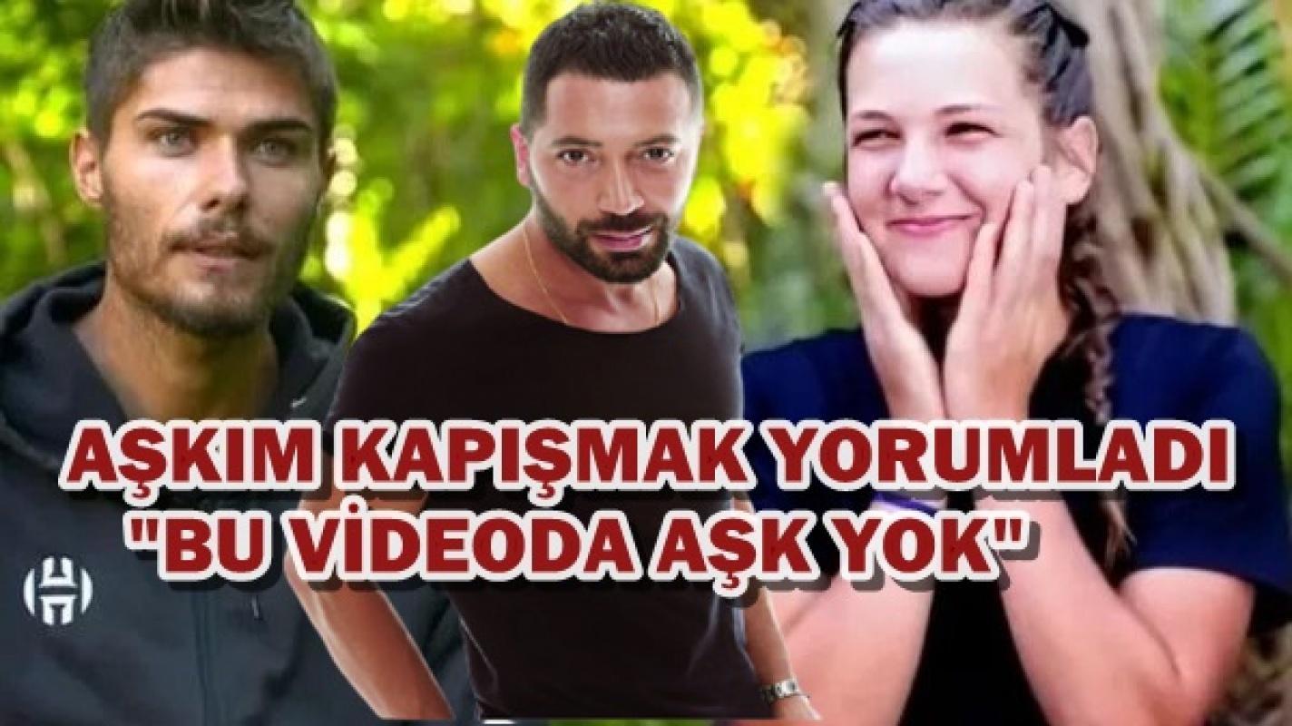 Aşkım Kapışmak 'Barış Murat Yağcı ve Nisa Bölükbaşı'nın öpüşme görüntüsüne bakın neler dedi?