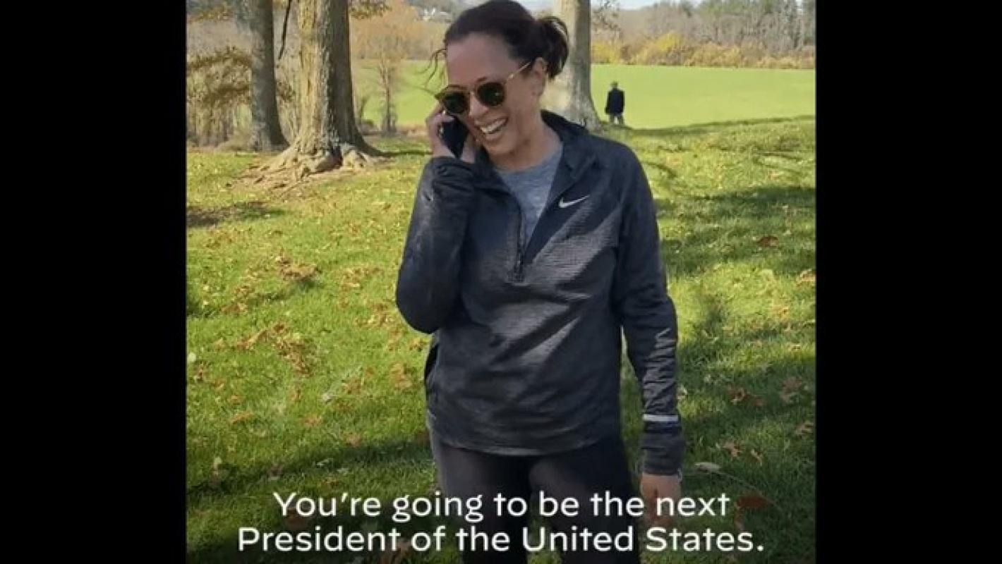 Kamala Harris'ten Biden'a ilk kutlama! Başardık Joe