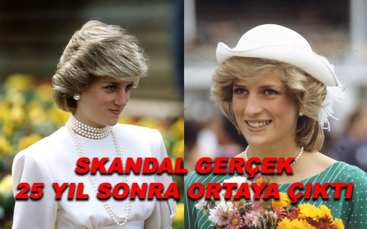 Prenses Diana ile ilgili gerçek 25 yıl sonra ortaya çıktı!