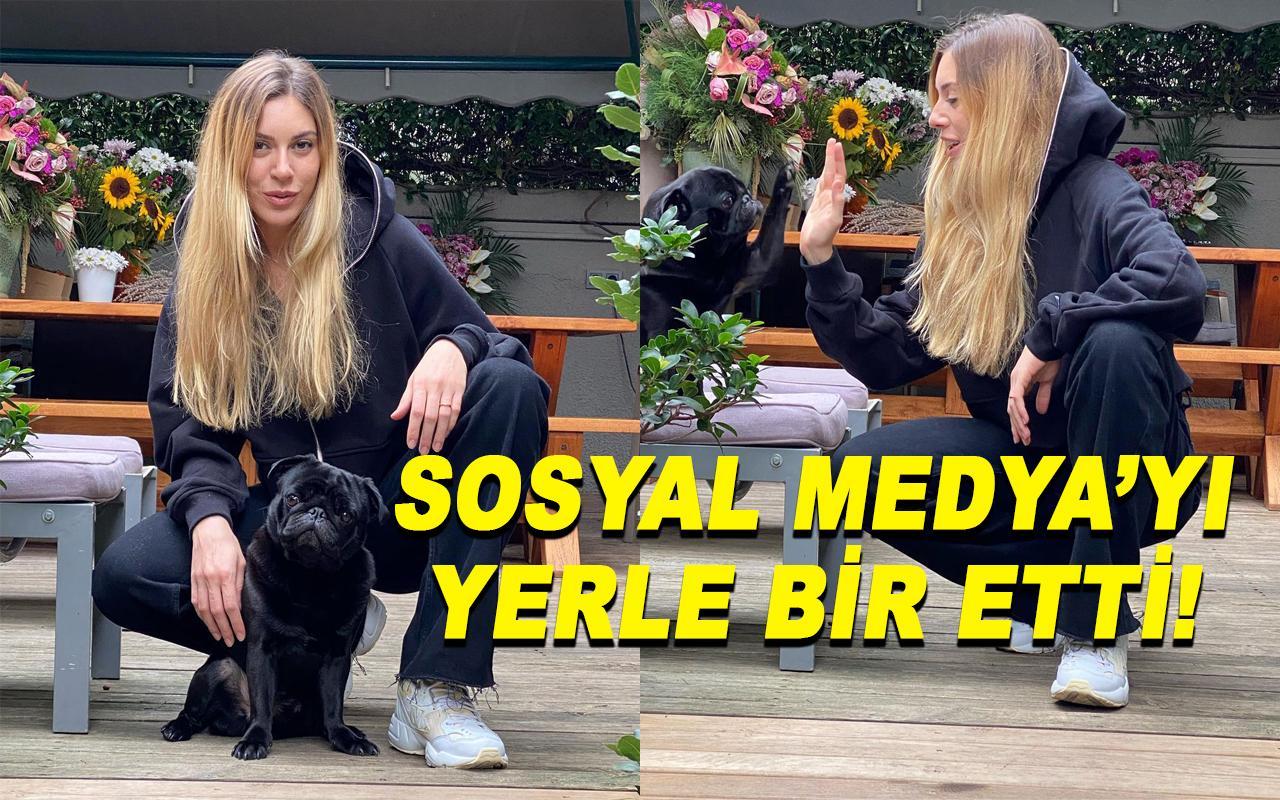 Sinem Kobal yeni pozlarıyla sosyal medyayı salladı!