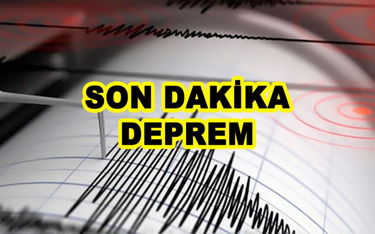 Son Dakika... İzmir Seferihisar'da yeni deprem meydana geldi!