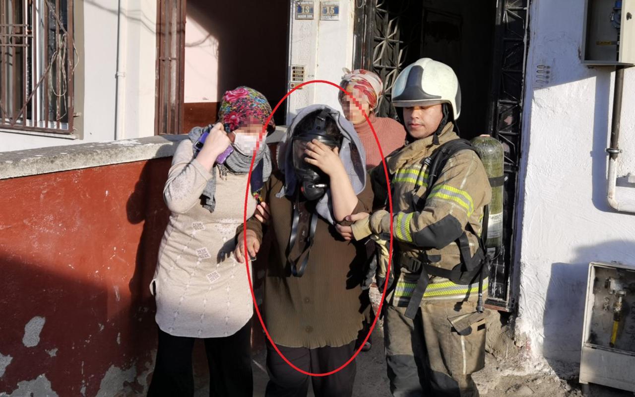 Bursa da altınları çalan 18 yaşındaki gelin evi yaktı