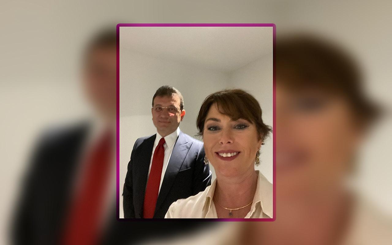 Gazeteci Şirin Payzın Ekrem İmamoğlu ile Selfie yaptı!
